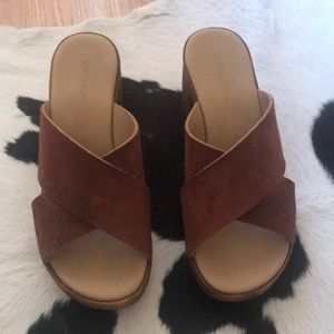 Topshop sandals shoes size 37